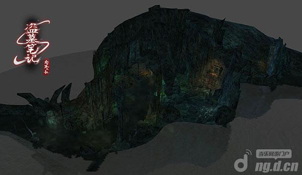 欢瑞游戏《盗墓笔记s》首批游戏实景截图曝光